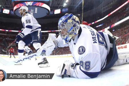 Lightning rely on Vasilevskiy in Game 4 win against Capitals