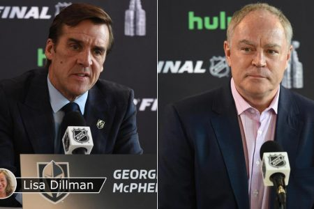 McPhee, MacLellan lead Golden Knights, Capitals to Stanley Cup Final