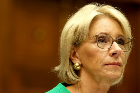ACLU blasts DeVos for telling schools to report undocumented students