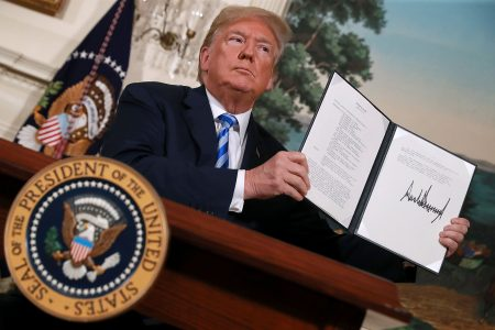 How Talks with North Korea Convinced Trump to Scrap the Iran Deal