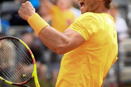 Rafael Nadal Beats Alexander Zverev to Win 2018 Italian Open Final