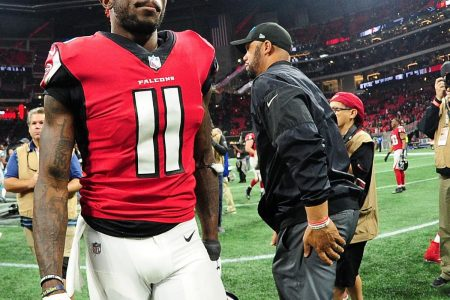 Report: Julio Jones, Aaron Donald Likely Won't Be at OTAs Amid Contract Disputes