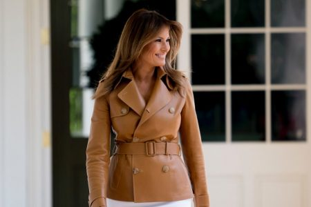 Melania Trump has returned to the White House after being hospitalized for a kidney procedure
