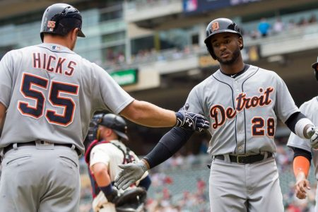 Tigers end five-game skid with a 4-1 victory over Twins