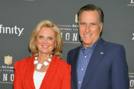 Romney reveals he wrote in wife's name for president in 2016