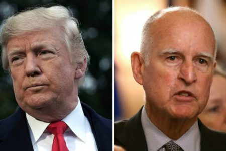 California governor slams Trump for 'lying' about immigration at 'sanctuary city' roundtable