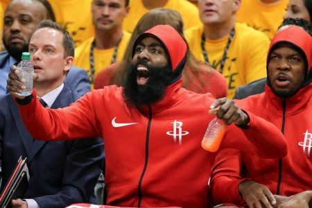 Harden, Rockets aim to close out Jazz in Game 5