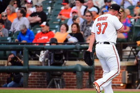 The Orioles' Dylan Bundy made arguably the worst start in MLB history