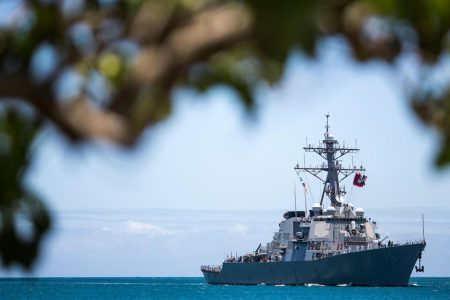 """US Navy: Chinese warships maneuvered in """"unprofessional"""" manner"""