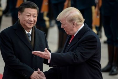 Trump moves forward with tech limits, tariffs ahead of China trade meeting