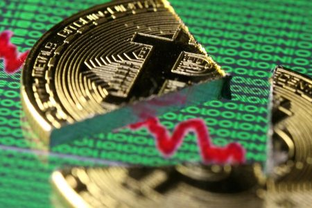 Bitcoin swoons 10% after news of South Korea crypto exchange hack, leading a broad cryptocurrency selloff