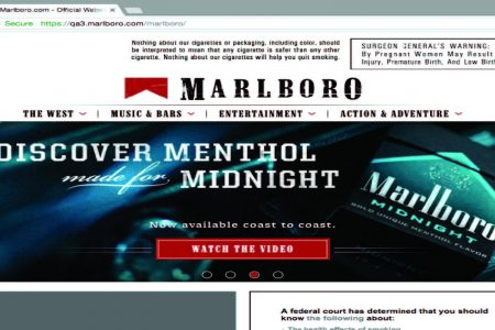 Tobacco companies' websites to post court-ordered warnings