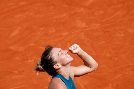 Simona Halep Breaks Through, Winning Her First French Open Title