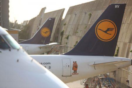 Lufthansa A340 Damaged as Frankfurt Airport Truck Catches Fire