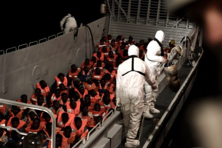 Italy's New Populist Government Turns Away Ship With 600 Migrants Aboard