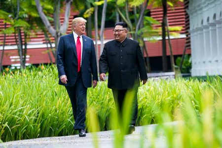 Unscripted Moments Steal the Show at Trump-Kim Singapore Summit