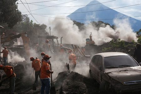 Children hurt in Guatemalan eruption receive care at Shriners Hospital in Texas