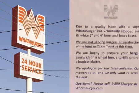 Texas' Whataburger, Raising Cane's having bun crisis days after state's In-N-Out restaurants close