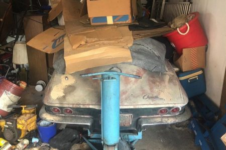 1963 Chevrolet Corvette parked in a garage for 45 years could be worth $150000