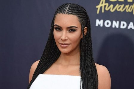 Kim Kardashian's braids called out as 'cultural appropriation'
