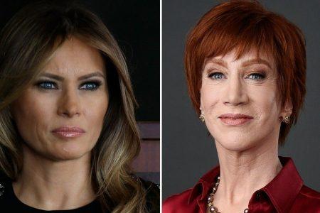 Kathy Griffin unleashes profanity-laced tirade at Melania Trump: 'F— you, Melanie'