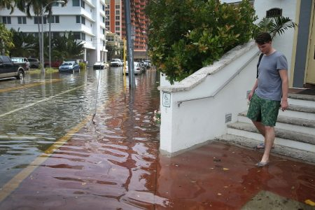 Millions of US homes at risk of chronic flooding this century, new study says