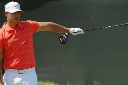 Brooks Koepka, Looking for a US Open Repeat, Grabs a Share of the Lead