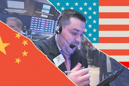 Trade war fears spread to tech and Dow sheds 328 points