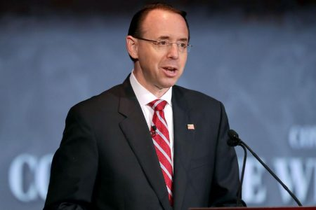 Rod Rosenstein in the hot seat amid House document feud
