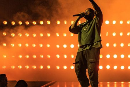 Kanye West's entire album hits the Top 40