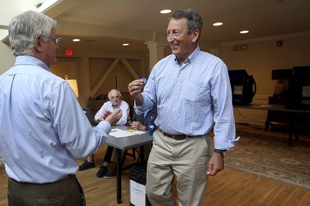 Sanford in trouble with two-thirds of vote counted