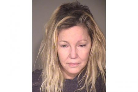 Heather Locklear arrested for allegedly kicking first responders