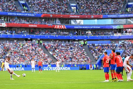 In World Cup, Serbia Holds On Against Costa Rica