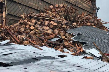 Thousands of Bourbon Barrels Come Crashing Down in Kentucky