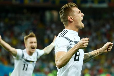Germany's World Cup Is Saved in the Blink of an Eye (and Flick of a Foot)