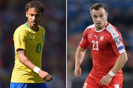 Brazil vs. Switzerland 2018 World Cup: Brazil takes 1-0 lead into halftime