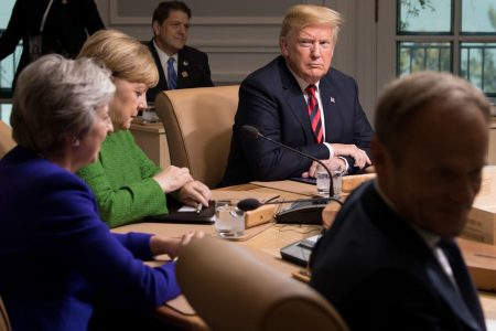 In Trump, some fear the end of the world order