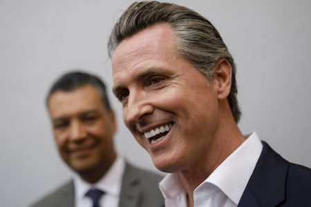 Gavin Newsom Is Helping His Republican Rival. Now Other Democrats Are Crying Foul.