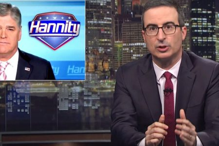 John Oliver Shreds Sean Hannity For 'S**ttiest Conspiracy Theory Ever'