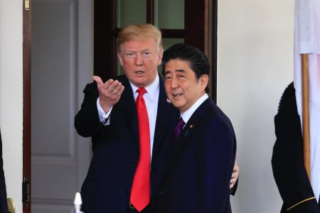 Trump reportedly told Japan's prime minister he'd send him '25 million Mexicans'