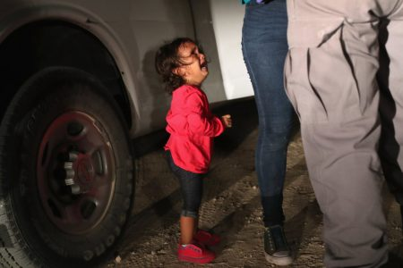 Crying Migrant Girl In Heartbreaking Photo Wasn't Separated From Her Mother
