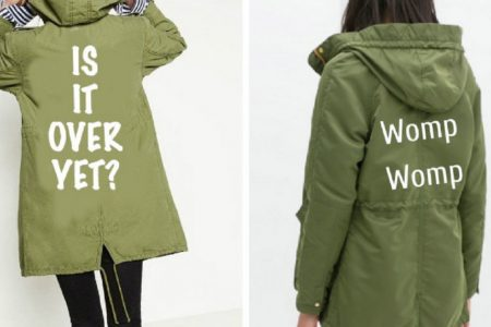 Twitter Users Came Up With Some New And Improved Jackets For Melania