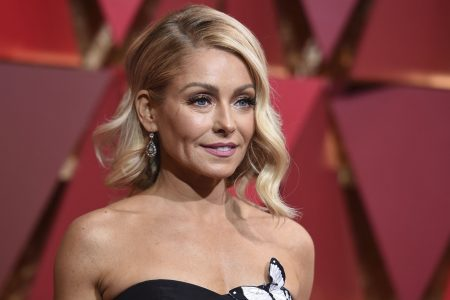All grown up: Kelly Ripa shares daughter Lola's prom photo
