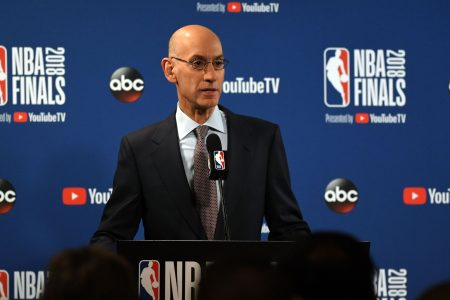 NBA commissioner Adam Silver: Sterling Brown arrest video 'horrific'