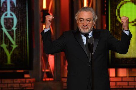 Robert De Niro drops the f-bomb bashing Trump at the Tony Awards