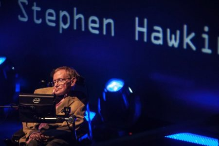 Stephen Hawking's voice will be beamed into space toward 'nearest black hole'