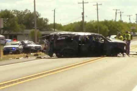 5 killed in police pursuit crash in Texas involving undocumented immigrants