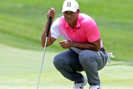 Tiger Tracker: Follow Tiger Woods' Thursday round at his tournament, the Quicken Loans National