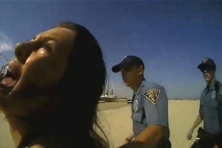 Woman punched by NJ cop in viral video says she is 'not a criminal'