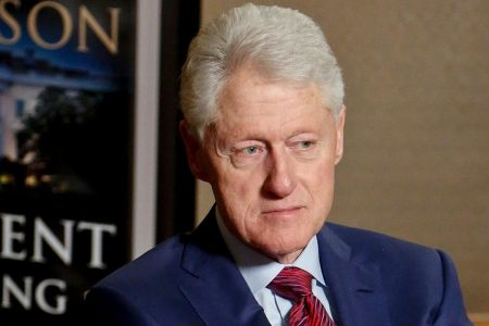 Clinton defends response to Lewinsky questions: 'I got hot under the collar'